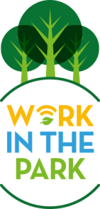 work in the park